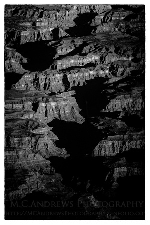Morning Shadows - Grand Canyon II-