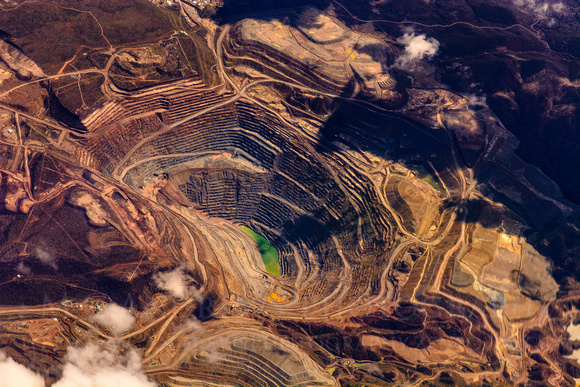 Abstract Landscape: Bagdhad Mine