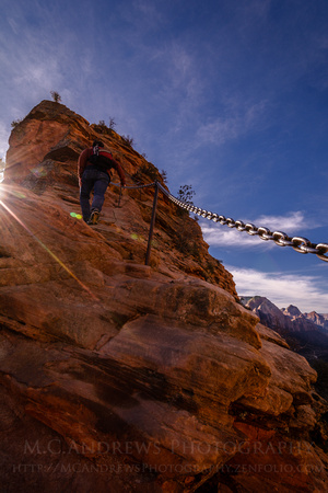 Angel's Landing Ascent